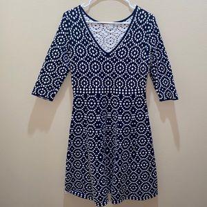 Boden geometric design dress size 6P